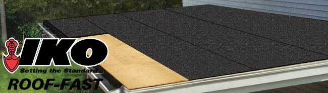 For Low-Slope Roof Applications & IKO Roof-Fast | Holden Humphrey Company memphite.com