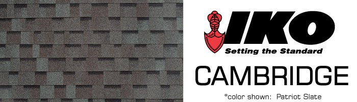 Cambridge Shingles By Iko Holden Humphrey Company