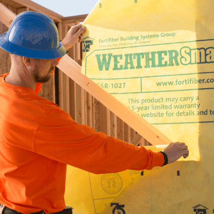 Fortifiber House Wrap